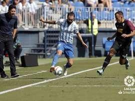 El Málaga-Sporting, en directo. LaLiga