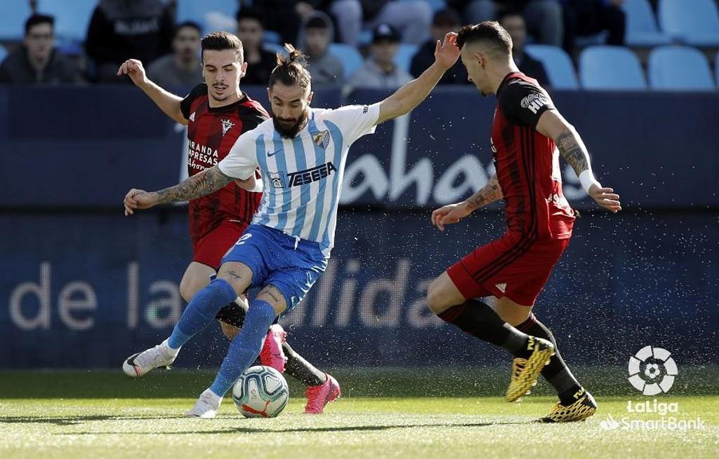 Málaga-Mirandés 2019-20