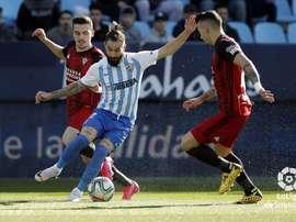 El Málaga recibe al Mirandés. LaLiga