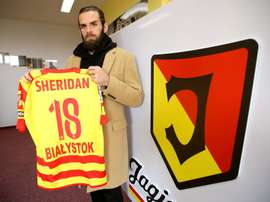 El delantero llega procedente de la Liga de Chipre. Jagiellonia