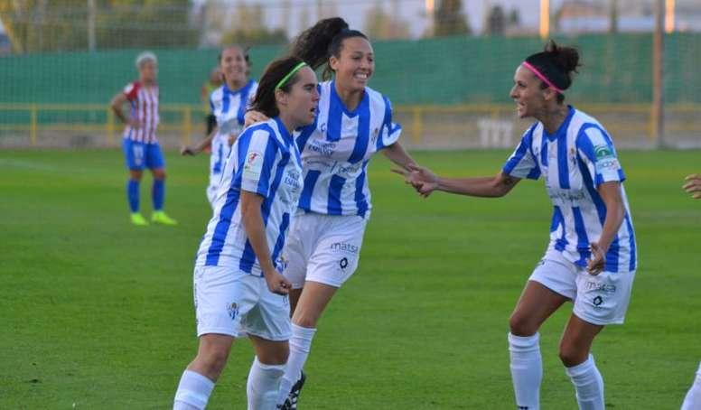 El Sporting Huelva cayó en el amistoso contra el Frankfurt. SportingHuelva/Archivo