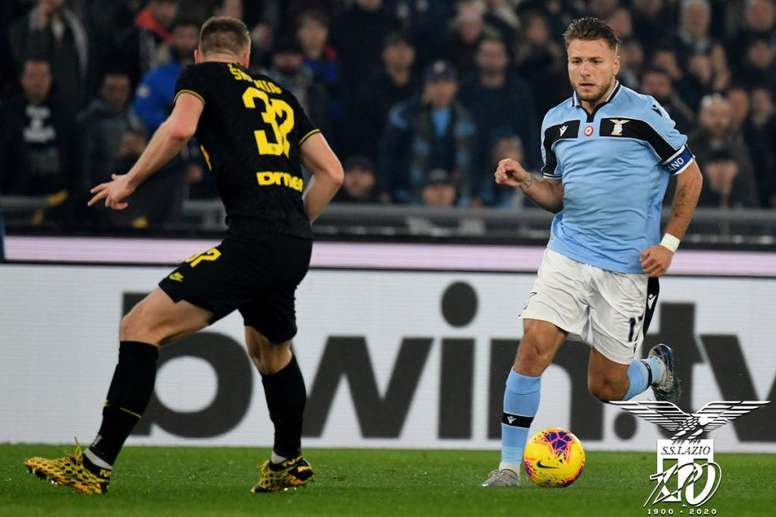 La Lazio vince all'Olimpico. AFP