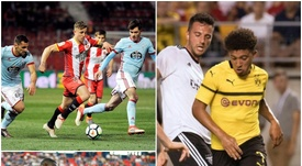 Sancho, Maffeo and Denayer are just three of the youngsters city have moved on in recent years. AFP