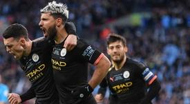 City bate o Villa e é tetracampeão da EFL Cup. Twitter/PumaFootball