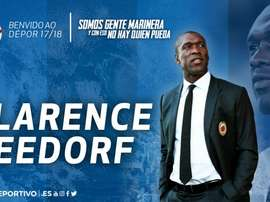 Clarence Seedorf named new Deportivo coach. RCDeportivo