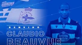 OFFICIEL : Beauvue quitte le Celta Vigo et s'engage avec La Corogne. Twitter/RCDeportivo