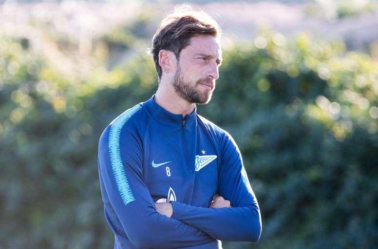Flamengo y Rangers quieren a Marchisio. FCZenit