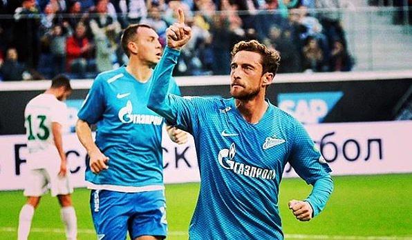 Pin Claudio Marchisio Zenit de San Petesburgo. Instagram ClaudioMarchisio 8c6f07ad48ddf
