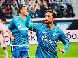 Claudio Marchisio Zenit de San Petesburgo. Instagram/ClaudioMarchisio