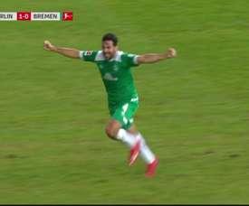 Pizarro hizo un tanto inolvidable. Captura/FOXSports