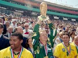 Brasil x Itália: craques de 1994 vão reeditar final. AFP