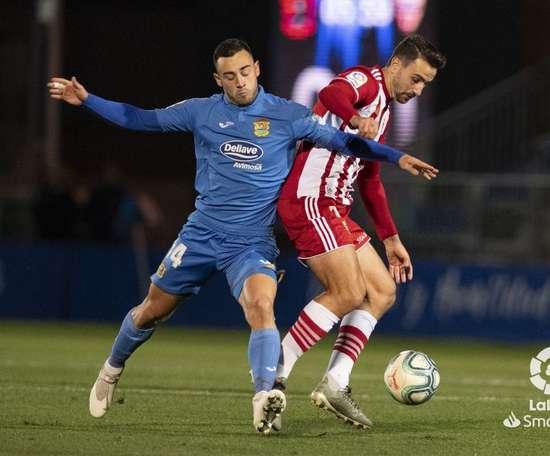 Fuenlabrada y Almería empataron en el Fernando Torres. LaLiga