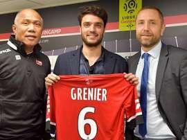 Grenier seguiré en la Ligue1. EAGuingamp