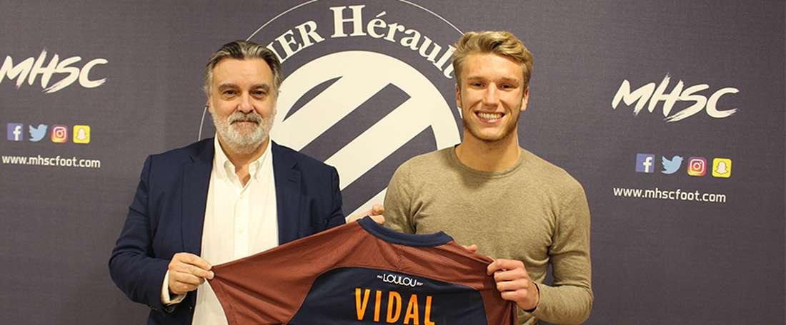 Vidal pasa a formar parte del primer equipo. MHSC