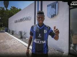 Aboagye signe à Querétaro au Mexique. ClubQuerétaro