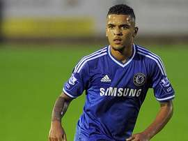 Clifford playing for Chelsea. Chelsea