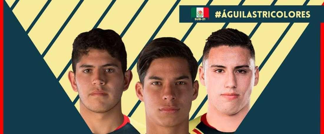 América, orgulloso de sus futbolistas. ClubAmérica