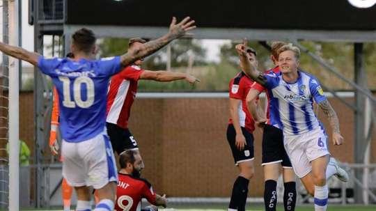 El Crewe Alexandra cayó por un contundente 6-0. Twitter/Crewealexfc