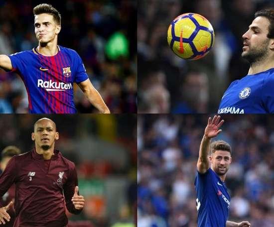 El Milan pensó en varios fichajes para enero. EFE/AFP