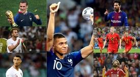 La FIFA dio a conocer la lista más esperada. EFE-AFP