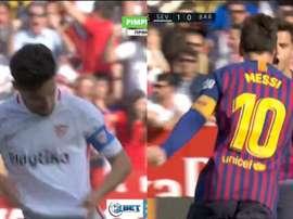 Navas et Messi, buteurs. PimpleTV