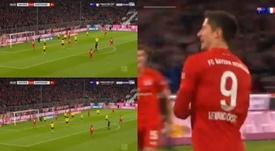 Lewandowski faz história no futebol alemão. beINSports