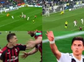 Piatek adelantó al Milan, Dybala igualó para la Juve. Movistar+