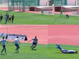 Carlos Álvarez enloqueció con este gol. Footters