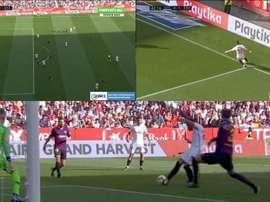 El VAR actuó para validar el gol. PimpleTV