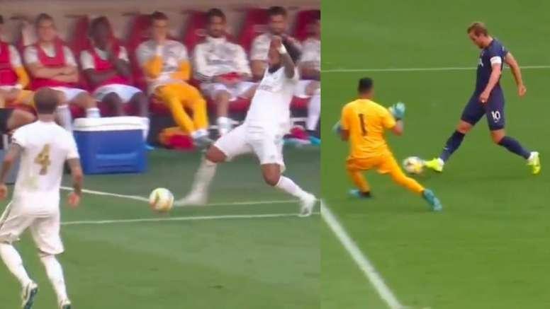 Passe na fogueira, presente de Marcelo e gol de Kane. RMTV