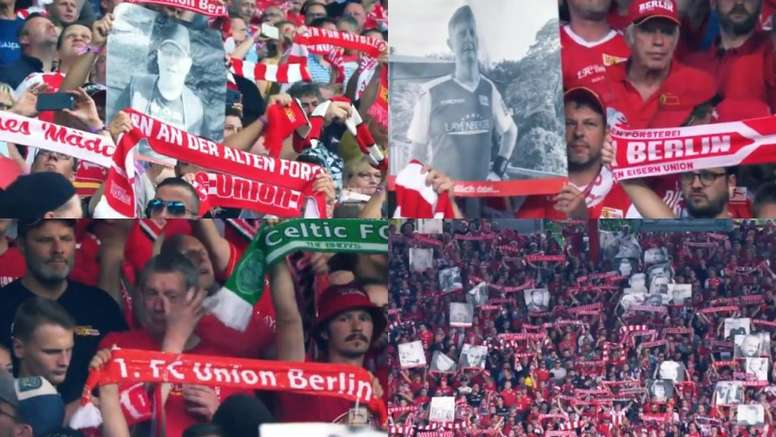 Union Berlin Pay Tribute To Clubs Fans Who Have Passed Away