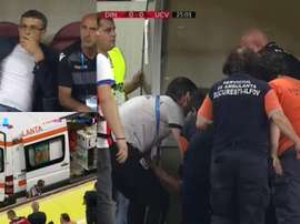 Dynamo coach suffers heart attack in the middle of a match. DigiSport1