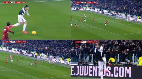 Cristiano Ronaldo marque encore mais en Coupe d'Italie cette fois. DAZN