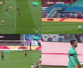 La boulette du gardien de l'Hertha au pire moment. Movistar+