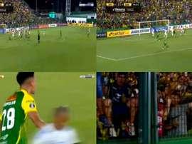 El 'Halcón' anotó el primer gol de la presente edición. beINSports