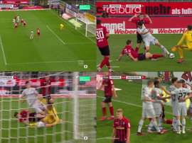 Havertz scored for Leverkusen, but got injured in the process. Movistar+