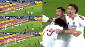 Milan sconfitto all'Olimpico. beINSPorts