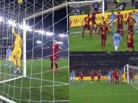 Falha surrealista do goleiro da Roma da empate a Lazio. Futbol2