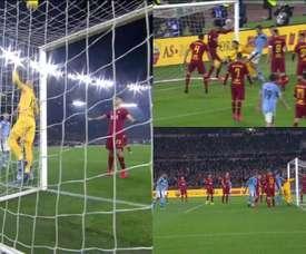Le cadeau de Pau Lopez à la Lazio dans le derby romain. Futbol2
