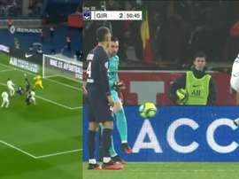 Marquinhos marcó con la clavícula y Sergio Rico regaló el empate a dos. Canal+