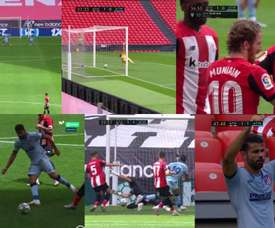 Muniain and Costa scored the two goals. Movistar+