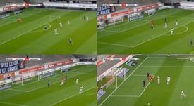 Jogo entre Osnabrück e Stuttgart teve lance bizarro. ElevenSports