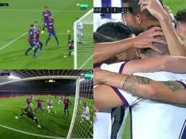 Kiko a égalisé face au Barça. Movistar+