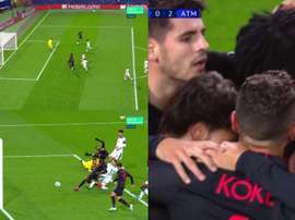 Costa para Thomas y 0-2 para el Atleti. Movistar+