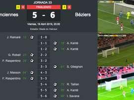 Un match complètement fou. BeSoccer/BeINSports