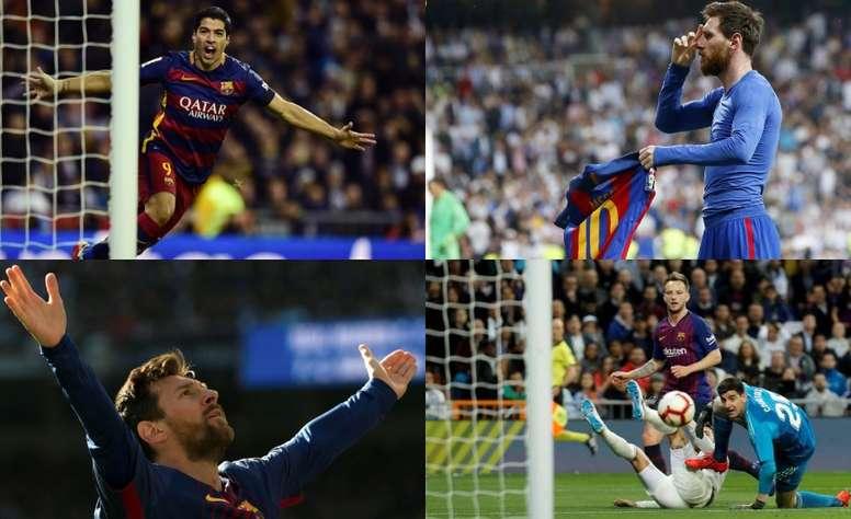El Barça conquistó una vez más el Bernabéu. EFE