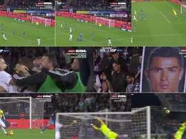Cristiano Ronaldo a inscrit un but spectaculaire. Capture/gol