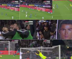 Cristiano Ronaldo a inscrit un but spectaculaire. Capture/gol
