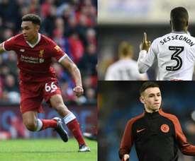 Son jóvenes y están llamando fuerte a las puertas del éxito. AFP/FulhamFC