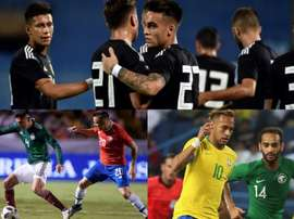 Aragentina, México y Arabia Saudí, los que más jugadores han probado. EFE
